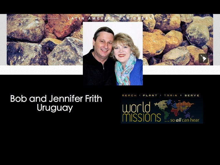 Bob and Jennifer Frith