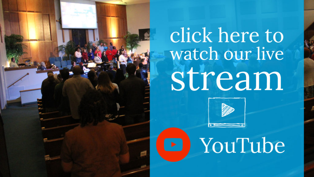 Worship Service Banner For YouTube Channel